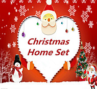 33pcs  Christmas Creative Home Decoration Kit