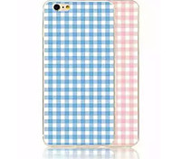The New TPU Painted Grid Cases for iPhone6/iPhone 6s(Assorted Colors)