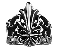 Ring Jewelry Stainless Steel Steel Black Jewelry Casual 1pc