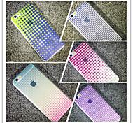 maycari® Welt voller geometrische Formen transparent weiche TPU zurück Fall für iPhone 6 / iphone 6s (Farbe sortiert)