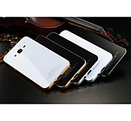 LUPHIE Aluminum Metal Frame Bumper Tempered Glass Back Cover Case For SAMSUNG Galaxy Note 5