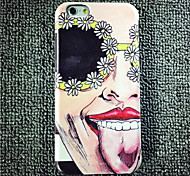 Various Facial Experssions Pattern High Quality PU Leather and TPU Back Case for iPhone 6/iphone 6S(Assorted Colors)