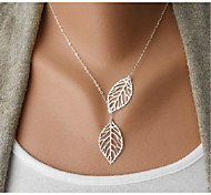 Necklace Statement Necklaces Jewelry Wedding / Party / Daily / Casual Fashion Silver / Sterling Silver Silver 1pc Gift
