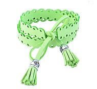 Korean Sweet Lovely Double-Faced Pile Tassels Bracelet