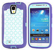 PC+TPU Waterproof Pouches Branch Camouflage Shockproof Case Build-in Screen Protector for Samsung Galaxy S4
