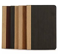 wood grain Simple Flip Case Support Leather Case Computer Protection Shell for iphong ipad mini 4 Assorted Colors