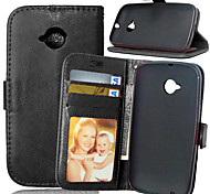 Luxury PU Leather Wallet Flip With Card Slot Photo Frame Stand Cover For Motorola Moto E2 E 2nd Gen