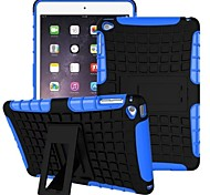 Miitary Army Plastic+Silicone Rubber Gel 2 in 1 Shockproof Hard Case With Stand for iPad Mini 1/2/3(Assorted Colors)