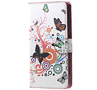 Adorable Owls and Hearts  Magnetic Leather Wallet Handbag Book Cover Case For Flip Huawei ascend G7