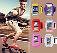 Colorful Gym Exercise Cover with Tune Belt Workout Running Sports Armband for iPhone 4/4S(Assorted Colors)
