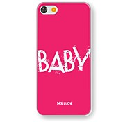 Baby Pattern PC Hard Case for iPhone 5/5S