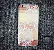 MAYCARI® Mandala on the Plank Transparent TPU Back Case for iPhone 6/iphone 6S