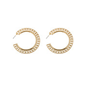 Fashion Women C Hoop Earrings