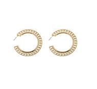 Fashion Women C Hoop Earrings