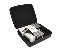 Black Portable EVA Carrying Case for C. A. H. Card Game with 7 Moveable Dividers