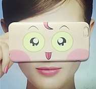 MAYCARI® Funny Looks Transparent Soft TPU Back Case for iPhone 6/iphone 6S(Assorted Color)