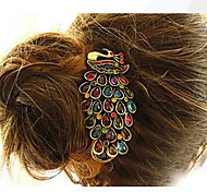 Women Vintage Alloy Peacock Hairpin Hair Accessories