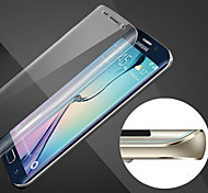 царапинам сфера полный охват HD отпечатков пальцев доказательство стали мягкими стеклянной пленки для Samsung Galaxy S6 края +