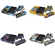 Xbox Uno - # - For Xbox One Console & Kinect - Novedad - PVC / Goma - Audio y Video - Juego de Accesorios / Adhesivo -