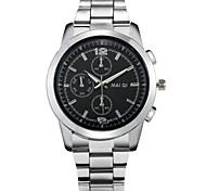 Fashion Men's High Quality Stainless Steel Quartz Business Watch Wrist Watch Cool Watch Unique Watch