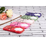 Silicone Material Smiling Face Doll Style for iPhone 5/5S (Assorted Colors)