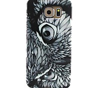 For Samsung Galaxy Case Pattern Case Back Cover Case Owl TPU Samsung S6 / S5 Mini / S5 / S4 Mini / S4 / S3 Mini / S3