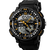 SKMEI® Men's Analog & Digital Sport Watch Calendar/Chronograph/Alarm/Water Resistant Cool Watch Unique Watch