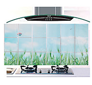 90x45cm  Pattern Oil-Proof Water-Proof Kitchen Wall Sticker