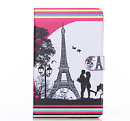 Love Pattern PU Leather Full Body Case with Stand for Galaxy Tab E 9.6 T560