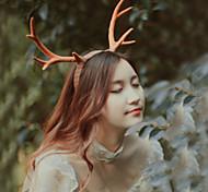 Large Antlers Headband Headdress Holiday Party Christmas Studio Props Christmas Gift Idea-25cm