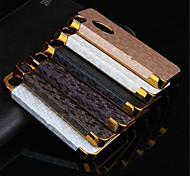 Football Grain Line Leather Metal Fdge Case Back Cover For iPhone 4/4S (Assorted Color)