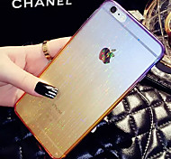 LADY®Elegant/Personality Phone Case/Cover for iphone 6/6s(4.7) with Silicone Material, More Colors Available