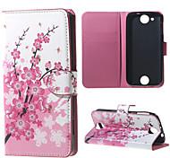 Pflaumenblüte Mappen-Lederstandplatzfall für Acer Liquid jade z