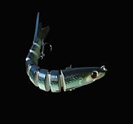 "1 pcs Harte Fischköder / Angelköder Harte Fischköder Grün 18.5 g/5/8 Unze,140 mm/5-1/2"" Zoll,Fester Kunststoff Seefischerei"