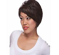 Women Mix Color lady Straight Short Synthetic Hair Wigs