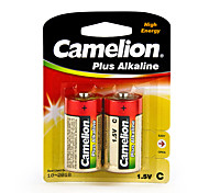 Camelion Plus Alkaline Primary Batteries Size C (2pcs)