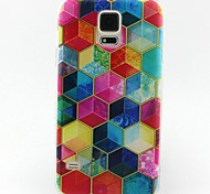 Para Funda Samsung Galaxy Diseños Funda Cubierta Trasera Funda Diseño Geométrico TPU SamsungS6 / S5 Mini / S5 / S4 Mini / S4 / S3 Mini /