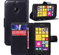 Personality Litchistria PU Left Open The Package Card Mobile Phone Holster For Nokia Lumia 530