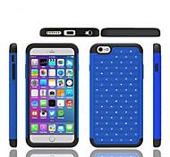 Silicone+ PC Gypsophila Diamond Stars Silicon Cover Cases For Apple iPhone 5/5S