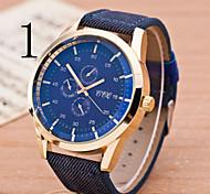 Men's  Watch Fashion Sports Business Casual Six Eye Three Pin Watch