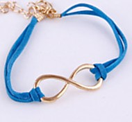 Hot Jewelry Blue Leather Cord Vintage Bracelet Bangle Gift