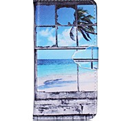 Window Painted PU Phone Case for iphone6/6S