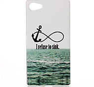 Sea ship anchor Pattern TPU Phone Case for Xperia Z5 Compact/Z5mini