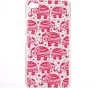 The elephant Pattern TPU Phone Case for Lenovo S90