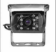 Rear View Camera - Compatibile con qualsiasi modello di auto - Sensore CCD da 1/4 di pollice - 170 ° - 420 linee tv disponibili