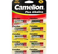 Camelion más alcalina baterías de pilas tamaño AA (10pcs)