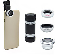 Universal 8X Optical Zoom Telescope Camera Lens for Mobile Phone iPhone 5G 5S 5C 6 Samsung i9300 S4 S3 Galaxy Note 2 3