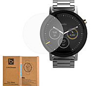 Link Dream Premium Glass Film 0.2 mm Real Tempered Glass Screen Protector for Smart Watch Moto 360 2nd Gen 46mm
