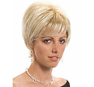 Fashion Middle Length Wig Top Quality Synthetic Straight Attractive Women's Short Wig