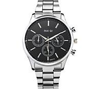 Men's Fashion Stainless Steel Quartz Business Wrist Watch